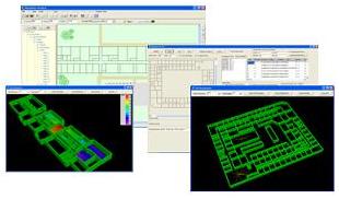 Wireless Network Design Tool - Screenshot